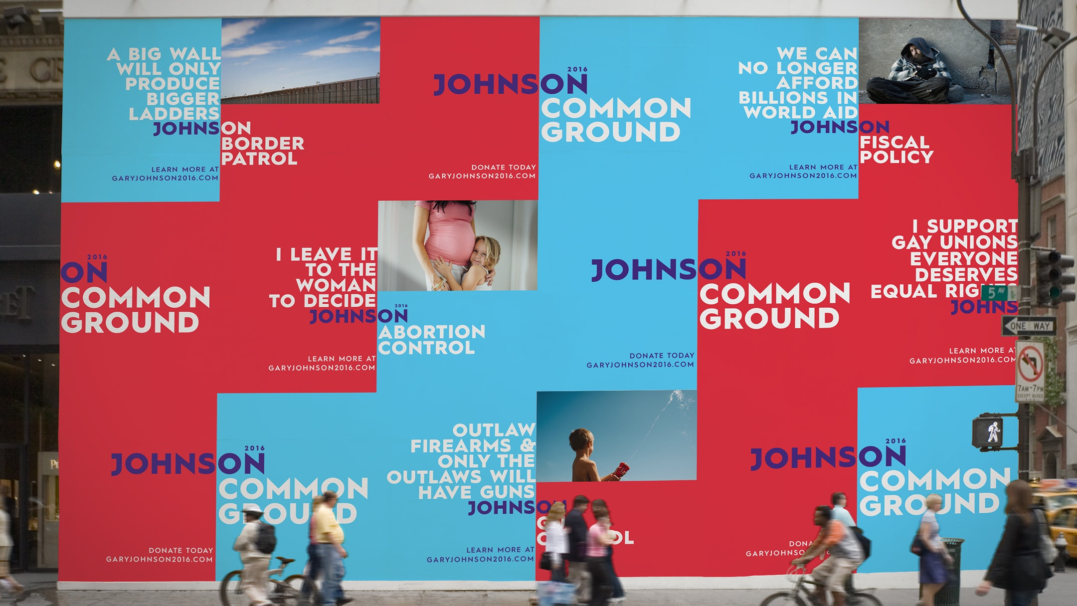 Gary Johnson spec campaign outdoor