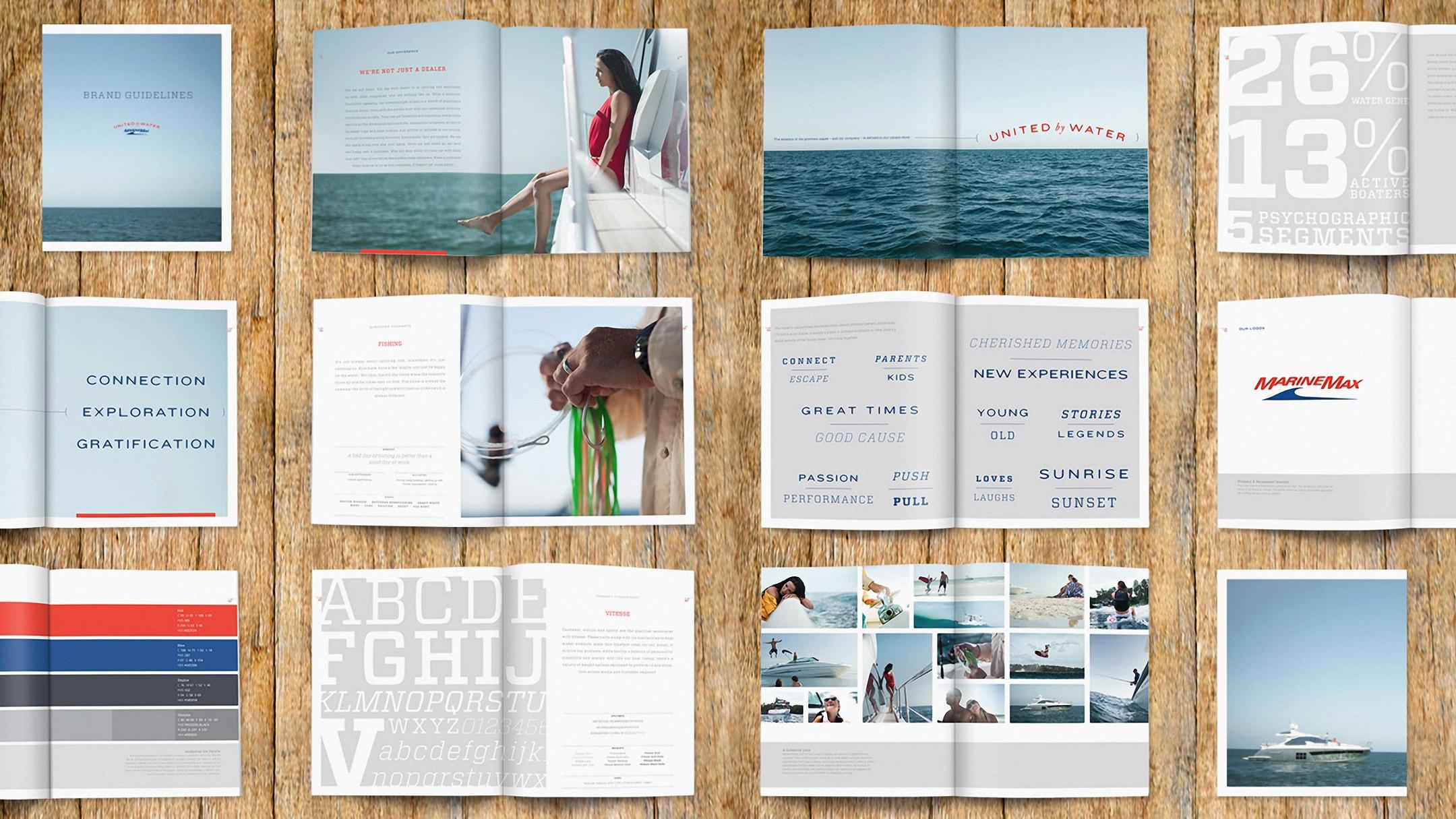 Marine Max brand book