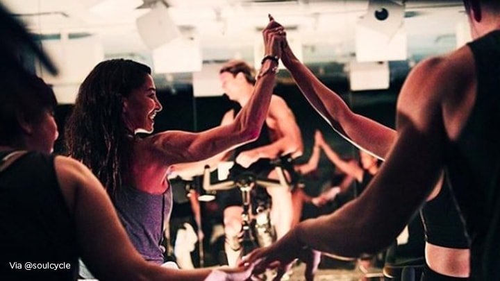 The importance of building community - example of soulcycle community