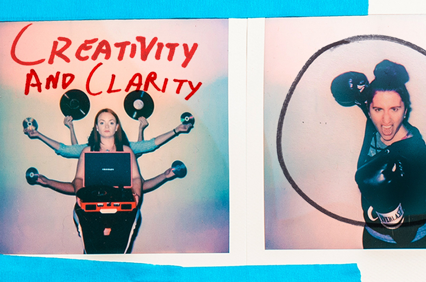 Let Go - They Key tos Great Work and better client agency relationships: A Photo that highlights creativity and clarity