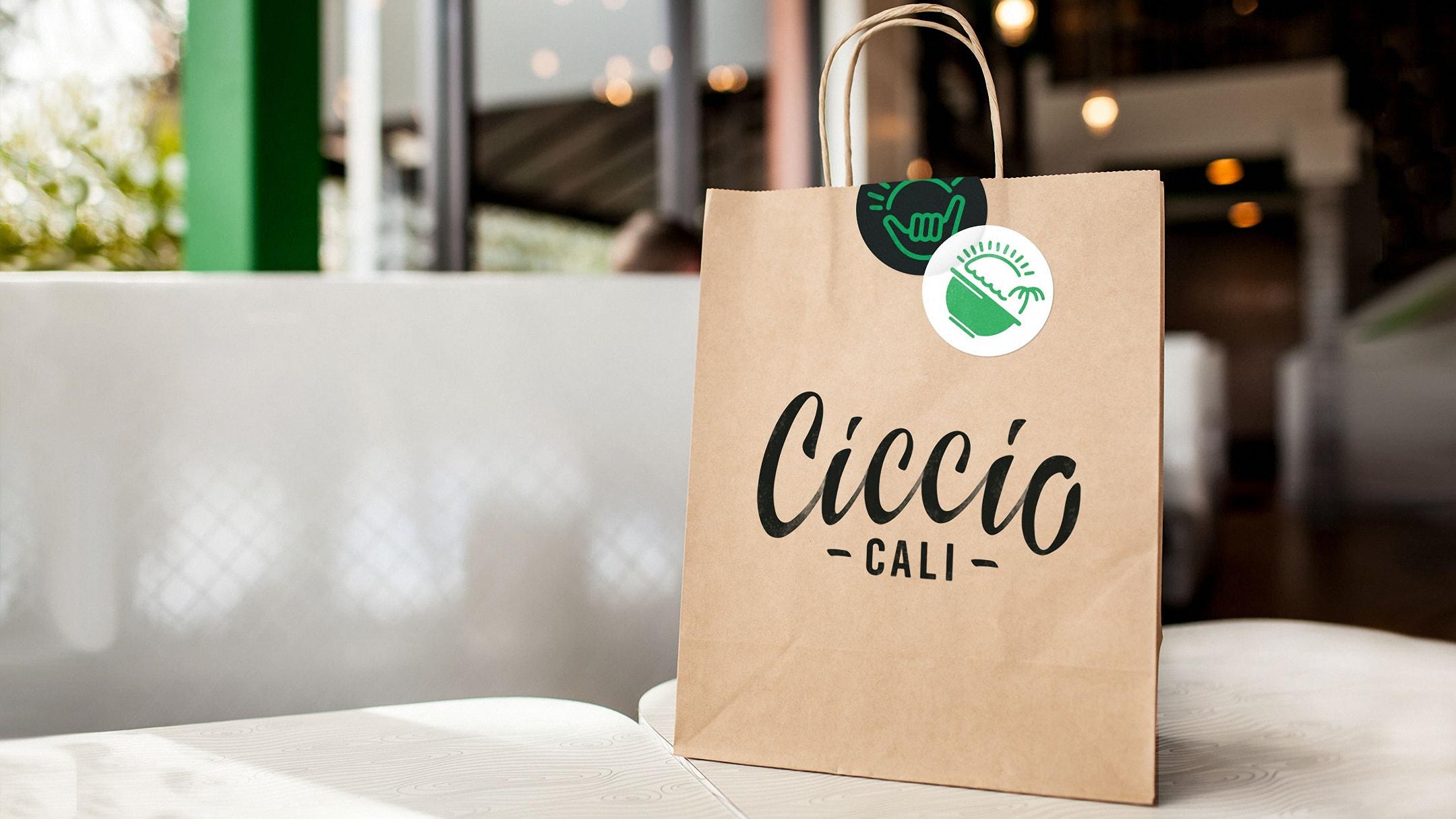 Ciccio Cali retail bag