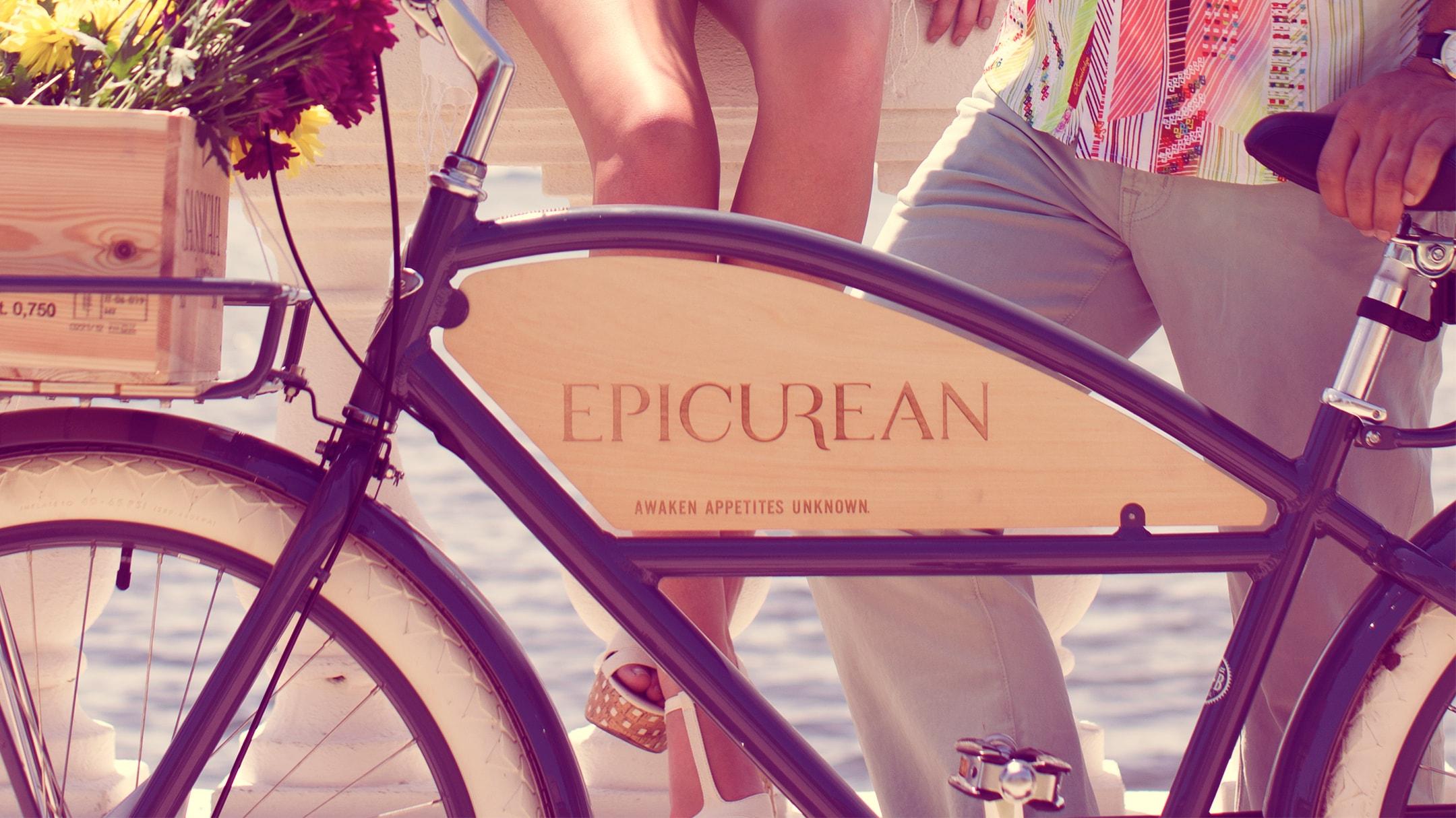 Epicurean Hotel bicycle