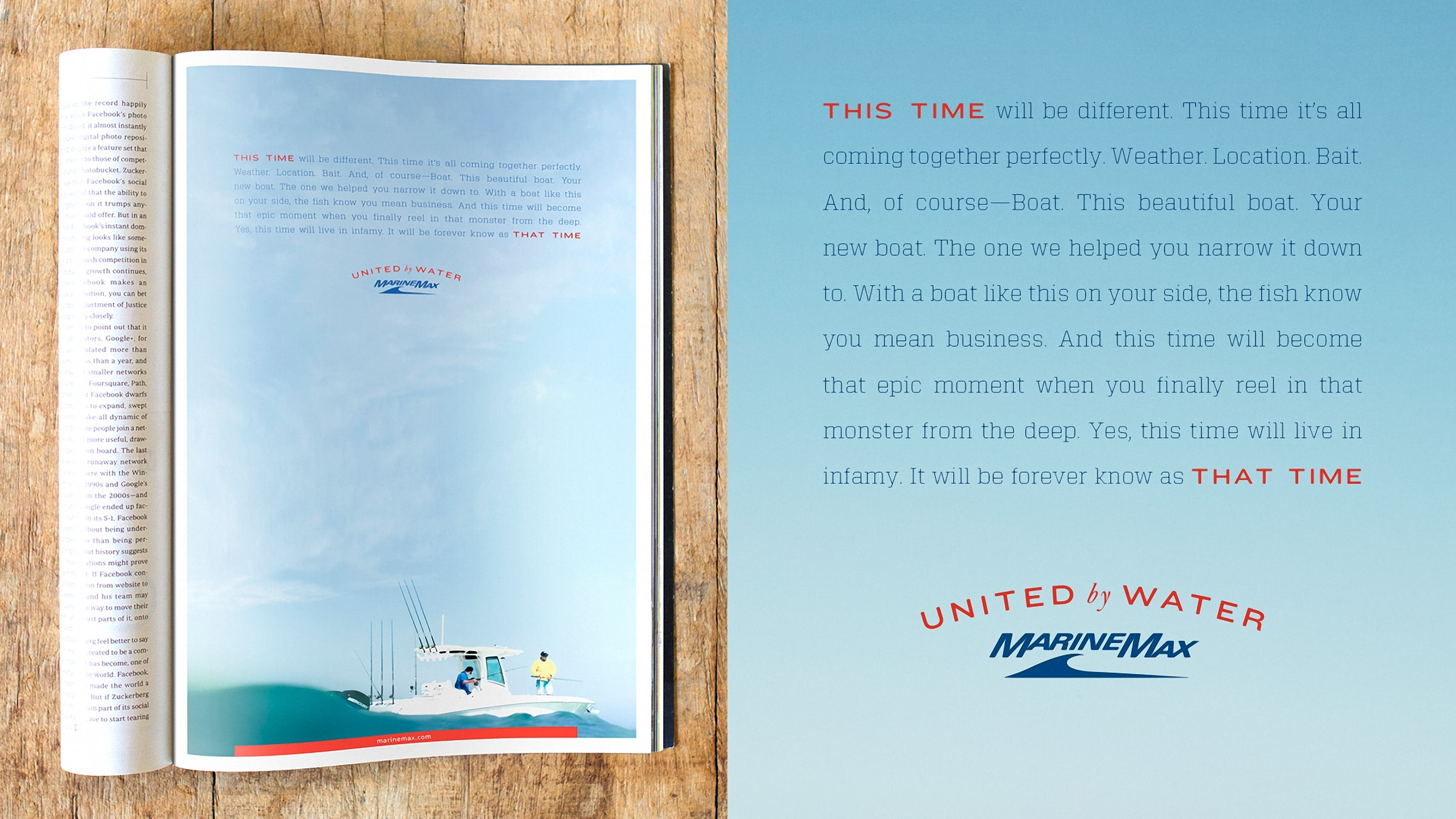 Marine Max print advertisement