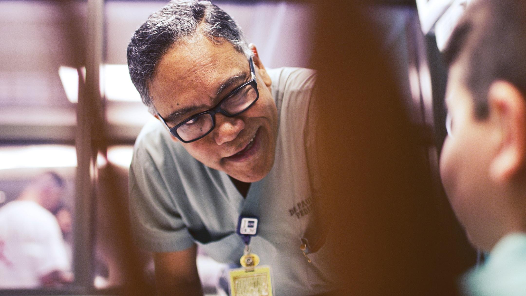 Texas Children's Hospital doctor.