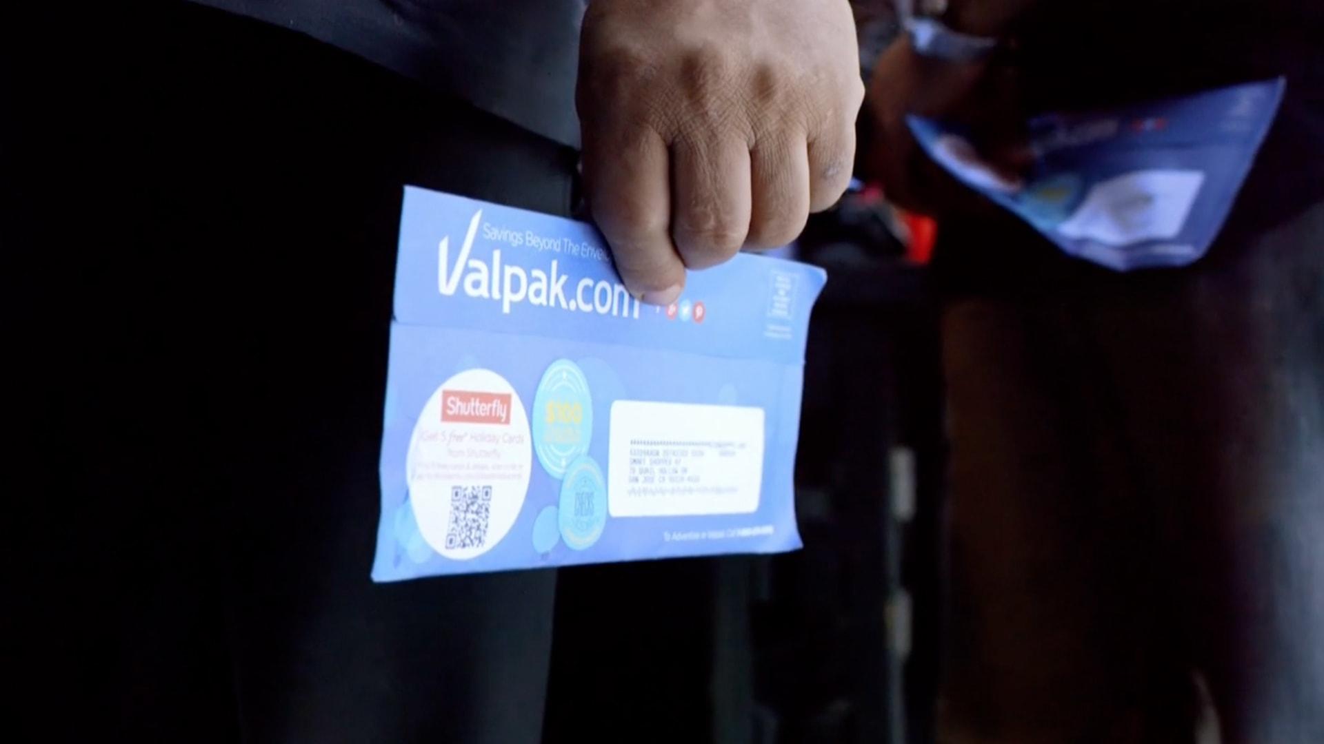 Valpak envelope
