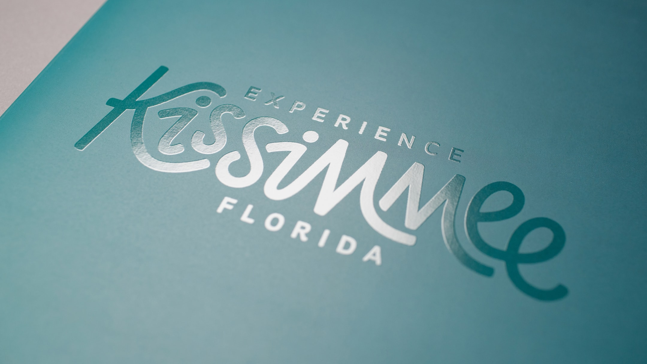 Experience Kissimmee Destination marketing and rebrand - new logo design