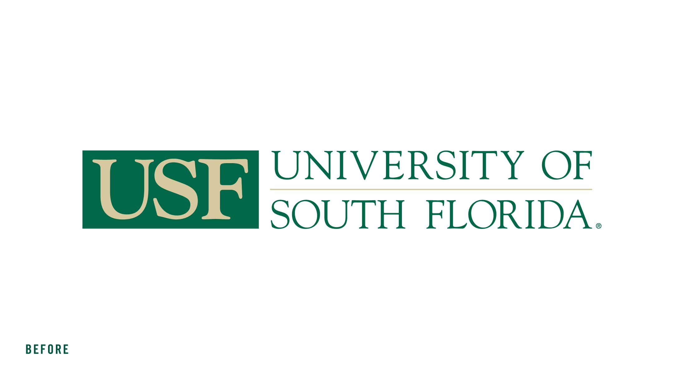 Old USF Academics Logo